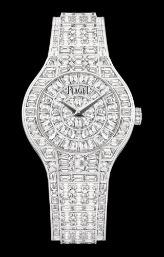 Polo 29 Quartz White Gold Full Diamond