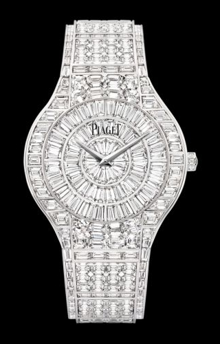 Polo 38 White Gold Full Diamond