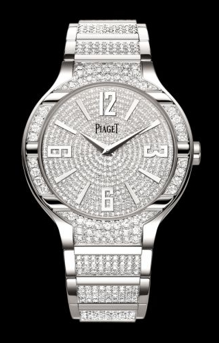 Polo 40 White Gold Full Diamond