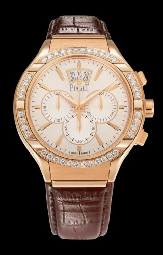 Polo 43 Chronograph Pink Gold Diamond