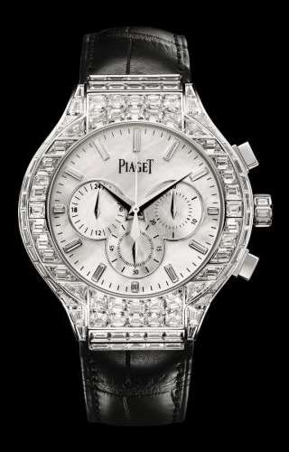 Polo 44 Chronograph White Gold Diamond