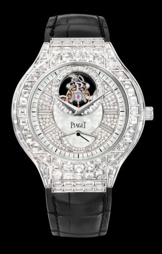Polo Tourbillon 44 White Gold Diamond