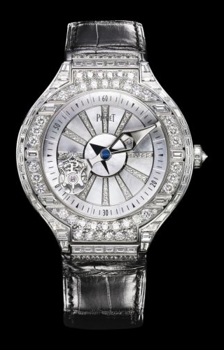 Polo Tourbillon Relatif Diamond Mother of Pearl