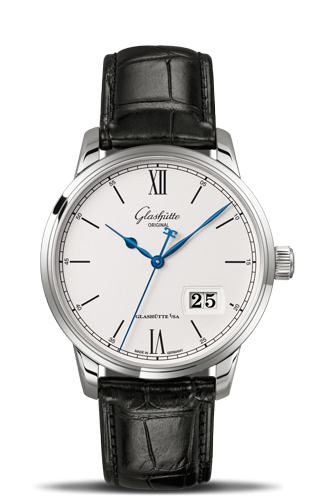 Senator Excellence Panorama Date Stainless Steel
