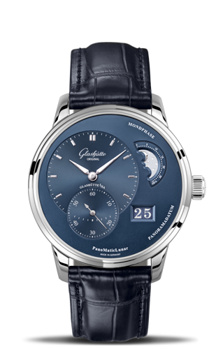 PanoMatic Lunar Stainless Steel Blue