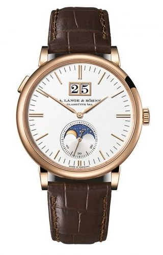 Saxonia Moonphase Pink Gold