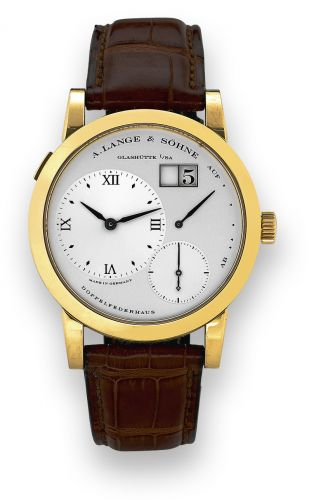 Lange 1 Yellow Gold Painted