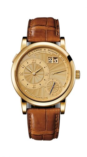 Lange 1A Gold Guilloche