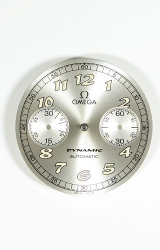 Dynamic III Chronograph Stainless Steel / Silver / Black Coramide / AVD