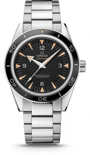 Seamaster 300 Master Co-Axial Stainless Steel / Black / Bracelet