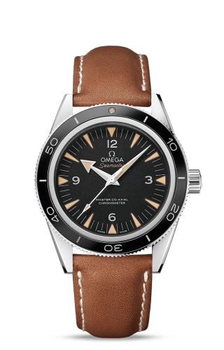 Seamaster 300 Master Co-Axial Stainless Steel / Black / Strap