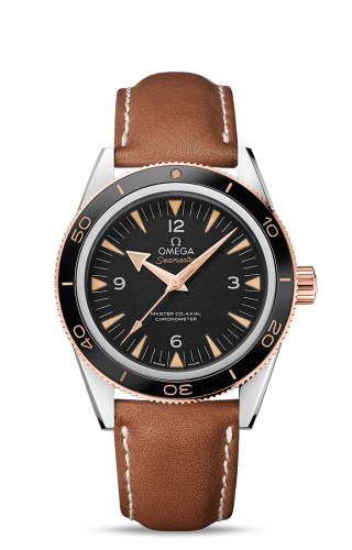 Seamaster 300 Master Co-Axial Steel Stainless Steel / Sedna Gold / Strap