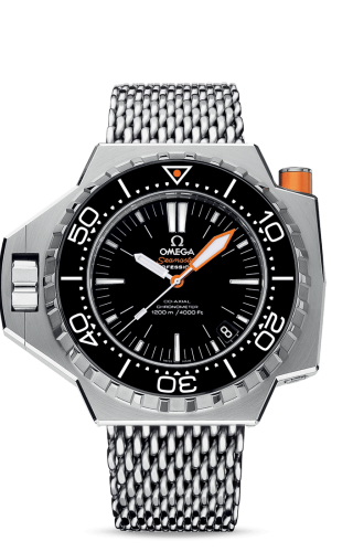Seamaster PloProf Co-Axial Stainless Steel / Black / Shark
