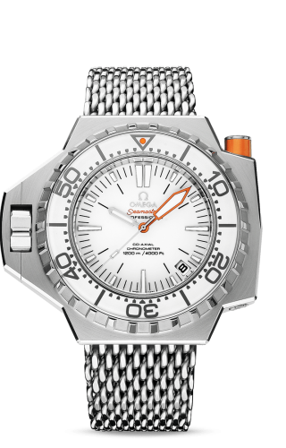 Seamaster PloProf Co-Axial Stainless Steel / White / Shark
