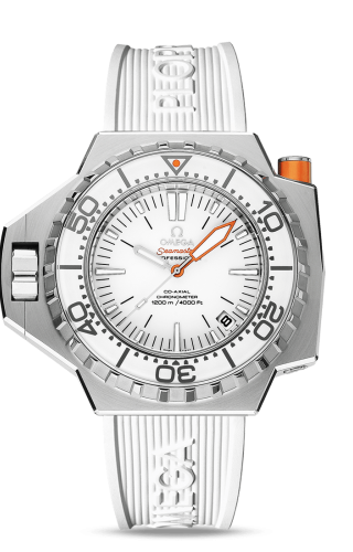 Seamaster PloProf Co-Axial Stainless Steel / White