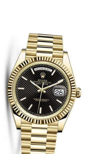 Day-Date 40 Yellow Gold / Black