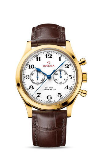 Museum Collection N° 10 Olympic Official Timekeeper Co-Axial Chronograph Yellow Gold