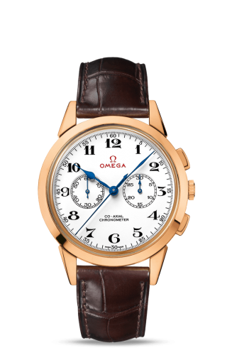 Museum Collection N° 8 Olympic Official Timekeeper Co-Axial Chronograph Pink Gold