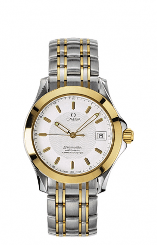 Seamaster 120M Automatic 36.25 Stainless Steel / Yellow Gold / White
