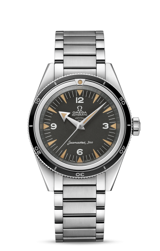 Seamaster 300 Master Co-Axial Stainless Steel / Black / Bracelet / 60th Anniversary / Trilogy Box