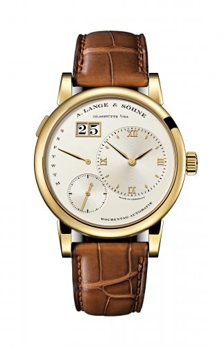 Lange 1 Daymatic Yellow Gold