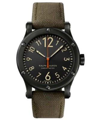 Safari 39mm Chronometer Aged Steel / Black