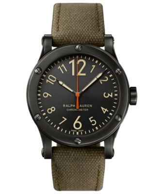 Safari 45mm Chronometer Aged Steel / Black