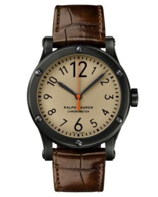 Safari 45mm Chronometer Aged Steel / Khaki