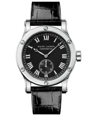 Sporting 39mm Chronometer Steel / Black