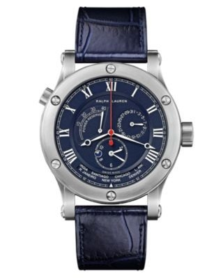 Sporting 45mm World Time Steel / Blue