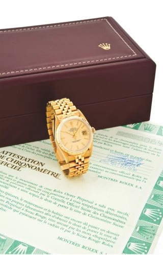 Datejust 16018 Gold