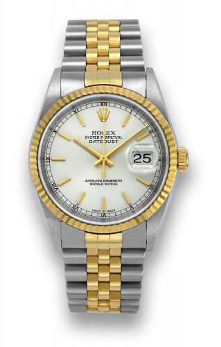 Datejust 16233 Silver