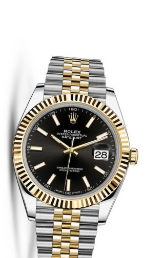 Datejust 41 Rolesor Yellow Fluted / Jubilee / Black
