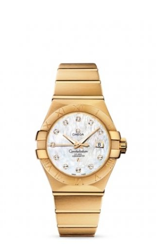 Constellation Co-Axial 31 Yellow Gold / MOP