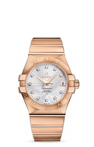 Constellation Co-Axial 35 Red Gold / Silver