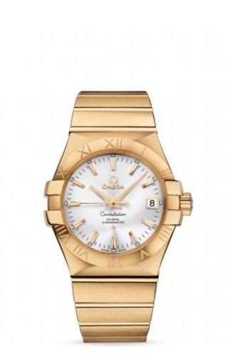 Constellation Co-Axial 35 Yellow Gold / Silver