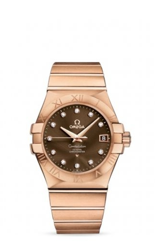 Constellation Co-Axial 35 Red Gold / Brown