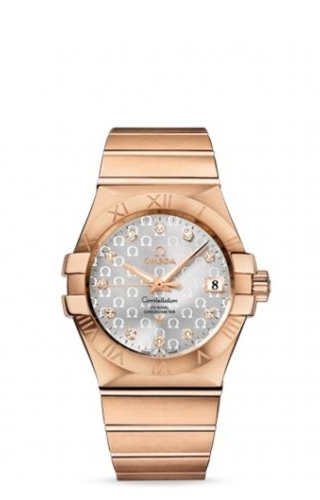 Constellation Co-Axial 35 Red Gold / Silver Omega