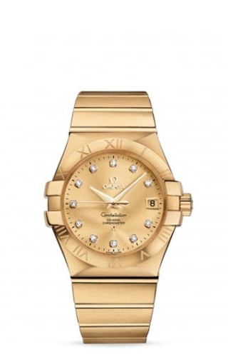 Constellation Co-Axial 35 Yellow Gold / Champagne