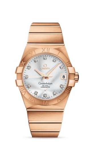 Constellation Co-Axial 38 Red Gold / Silver