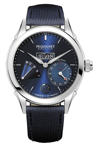 Rue Royale GMT Stainless Blue / Fabric