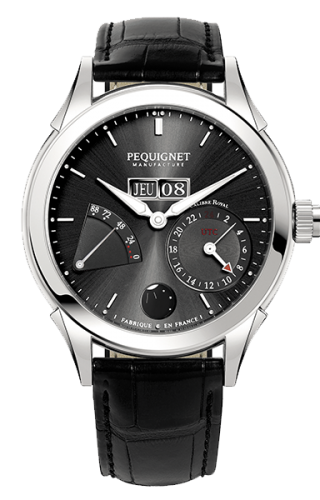 Rue Royale GMT Stainless Steel / Grey