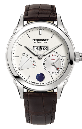 Rue Royale GMT Stainless Steel / Silver