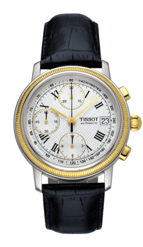 Bridgeport Automatic Chronograph Gold Bezel