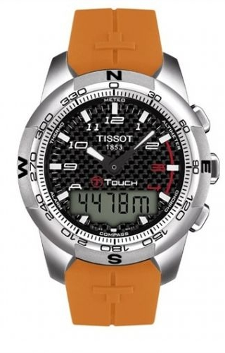 T-Touch II Orange Rubber Carbon