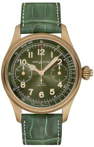 1858 Chronograph Tachymeter Bronze Only Watch 2017