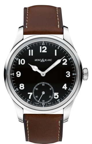 1858 Manual Small Second Stainless Steel / Black