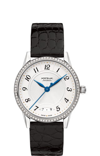 Bohème Date Automatic 34 Stainless Steel / Diamond / White