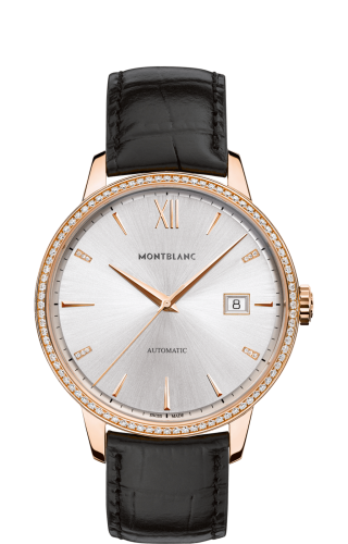 Heritage Spirit Date Automatic 39mm Red Gold Diamond
