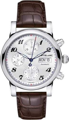 Star Traditional Chronograph Automatic Silver